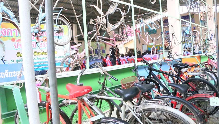 หนองไม้แก่น เปลี่ยนขยะ-จักรยาน สร้างสามัคคีคนท้องถิ่น