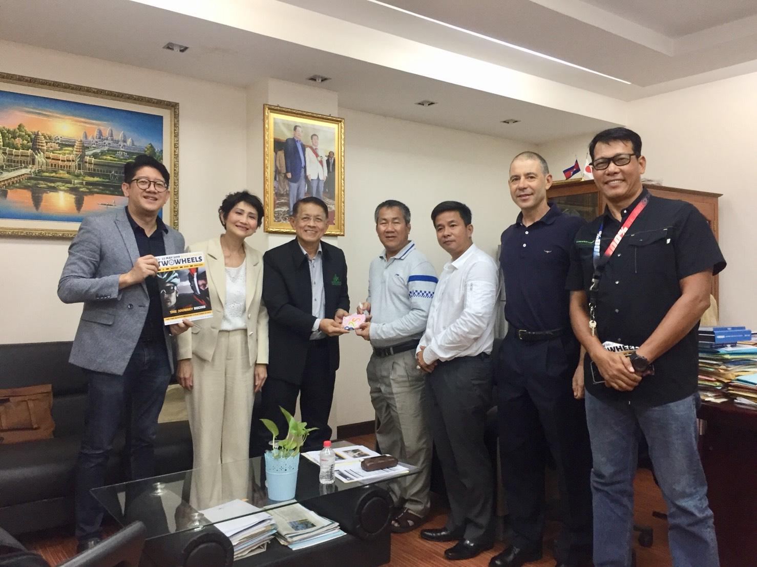 ภาคีความร่วมมือการจัดงาน TWO WHEELS ASIA 2019 ณ กัมพูชา