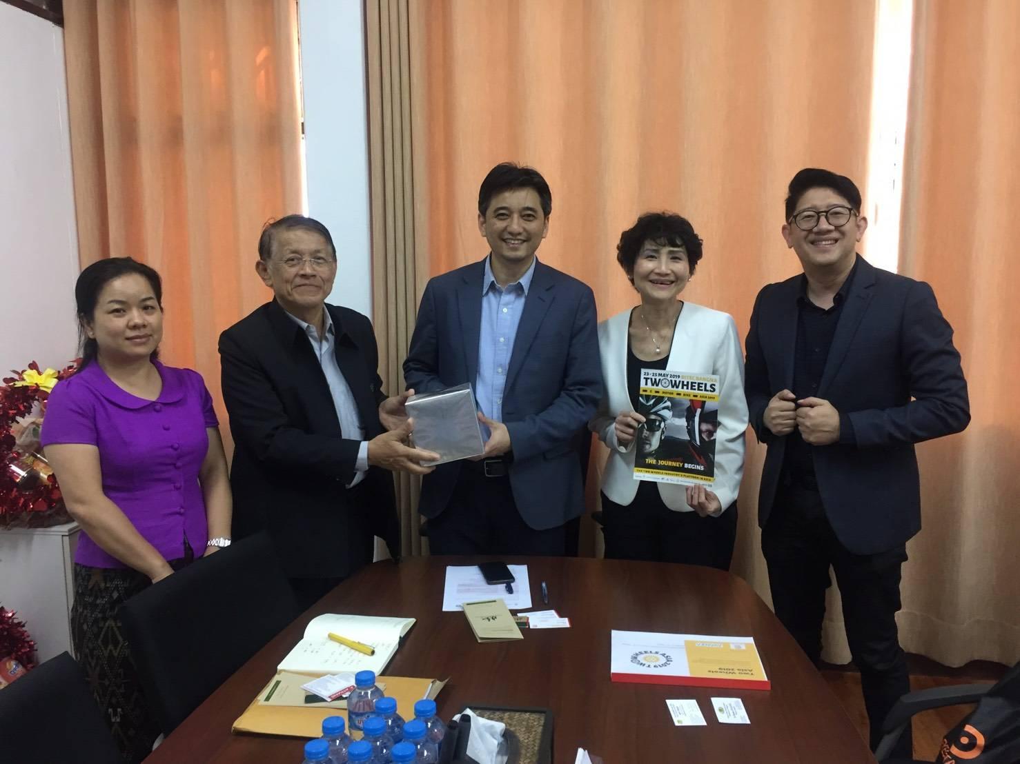 ภาคีความร่วมมือการจัดงาน TWO WHEELS ASIA 2019 ประเทศลาว