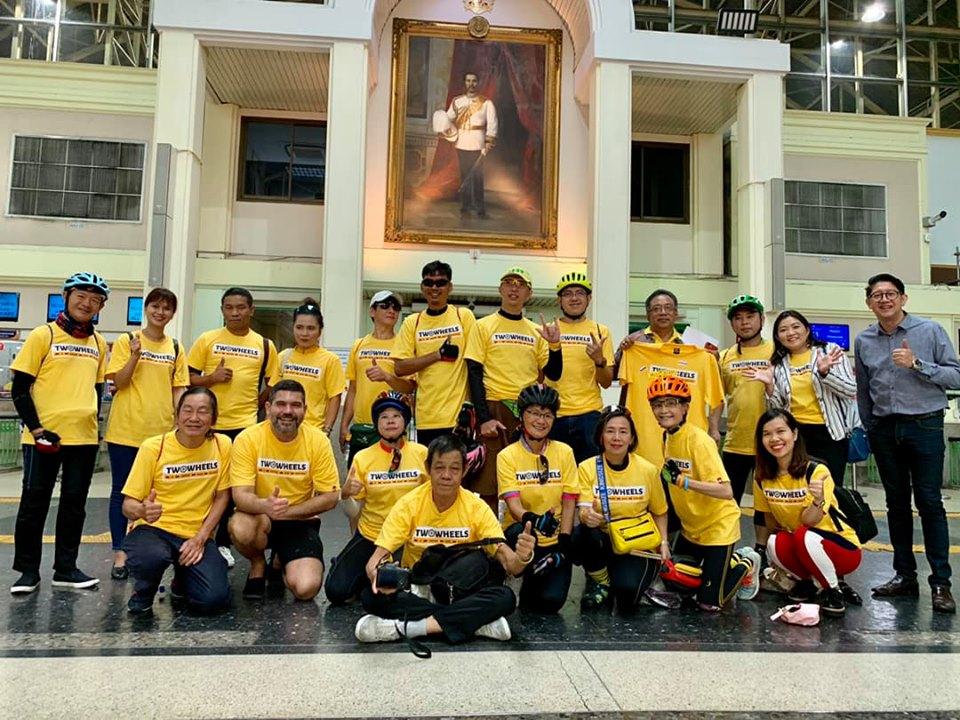 มูลนิธิฯ ร่วมจัดงาน TWO WHEELS ASIA 2019