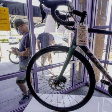COVID-19 ทำให้กระแสการใช้จักรยานกลับมาบูมอีกครั้งในสหรัฐอเมริกา